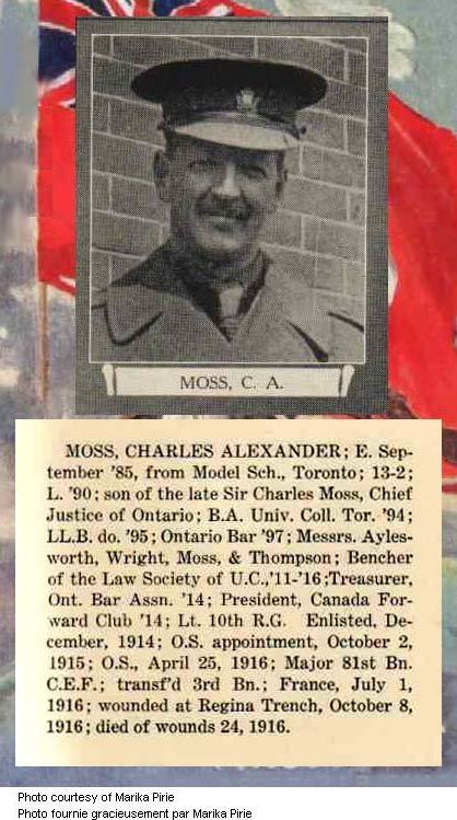 Photo of Charles Alexander Moss