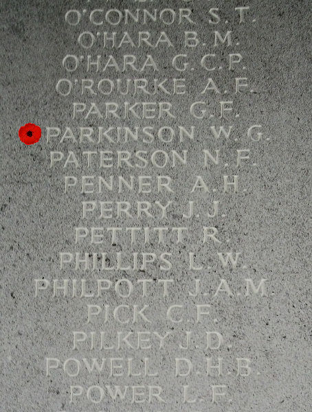 Memorial – Inscription - Runnymede Memorial - April 2017 … photo courtesy of Marg Liessens
