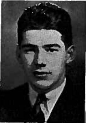Photo of OWEN FRASER PICKELL – Photo from the 1940 University of British Columbia yearbook.