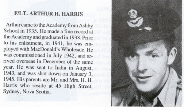 Photo of Arthur H. Harris