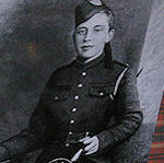 Memorial – JAMES CLELLAND RICHARDSON is honoured inside the British Columbia's Legislature Building at Victoria. (J.Stephens)
