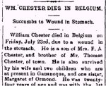 Newspaper Clipping – From the Perth Courier for 30 July 1915.