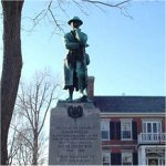 Memorial – Gunner William Chester's name is listed on the Gananoque Ontario War Memorial.