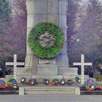 Memorial – The Cenotaph at Memorial Park in St. Catharines, Ontario, was dedicated on August 7th, 1927 by the Prince of Wales (future King Edward VIII), and unveiled by Brigadier General W. B. M. King, C.M.G., D.S.O.  The names of St. Catharines men who died as a result of their service during World War I are listed on two bronze tablets located at City Hall.