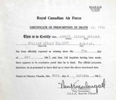 Death Certificate – Submitted for the project, Operation Picture Me