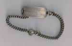 Identity bracelet – Sgt Rowsell's identity bracelet