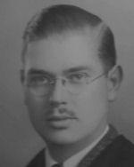 Photo of Lewis Burpee – Lewis Burpee D.F.M., B.A. graduate 1940 Queens University.