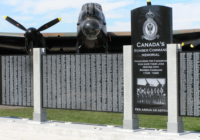 Canada's Bomber Command Memorial