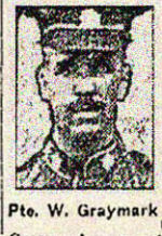 Newspaper clipping – Pte. Ernest Joseph Graysmark is mentioned in this article about his brother William.  Pte. Ernest Joseph Graysmark enlisted in the 208th Battalion in November 1916.  He died while serving with the 58th Battalion on August 7th, 1918.  His brother, Pte. William Graysmark, 164246, 75th Battalion, was killed at Vimy Ridge on April 9th, 1917.   In honoured memory of the Graysmark brothers.