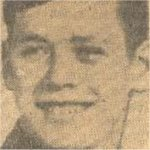 Newspaper Clipping – This image of Pte Bateman appeared in a Toronto newspaper in 1944 accompanying his obituary notice.