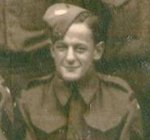 Photo of Frederick Bernard Harris – Sergeant Harris enlisted in The Queen's Own Rifles in June 1940 when the regiment was mobilized. He served in Newfoundland, New Brunswick and then in England. Sergeant Harris had the chance to return to Canada for his officer course but he declined as he would have not been with the unit on D-Day. Sergeant Harris was killed leading his men of B Company out of the assault boat at Bernieres-sur-mer (Juno Beach).