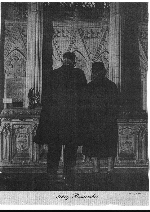 Photo of Harry and Sylvia Kimmel (Father and Mother) – Harry and Sylvia Kimmel looking at the Book of Remembrance in the Memorial Chamber located in the Peace Tower on Parliament Hill.  Photo from The Legionary Magazine December 1961.