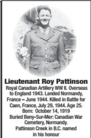 Photo of ROY PATTINSON