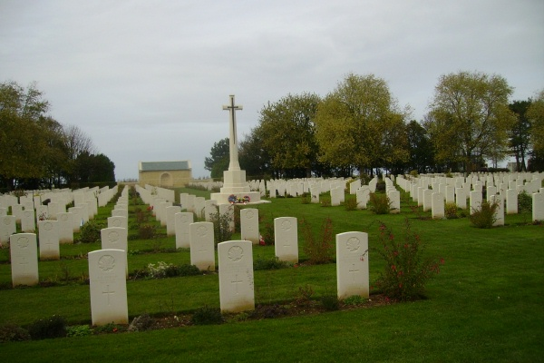 Cemetery – Beny-sur-Mer Canadian War Cemetery … photo courtesy of Marg Liessens