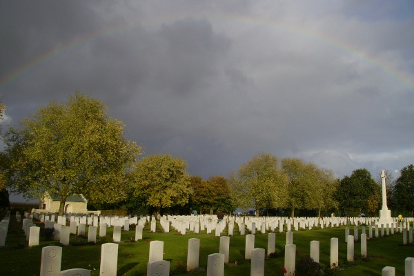 Cemetery – Beny-sur-Mer Canadian War Cemetery  Photo courtesy of Marg Liessens