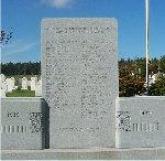 Springbrook War Memorial – This war memorial is located in Springbrook, Prince Edward Island.