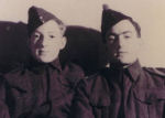 Group Photo – John M. Simpson (R) and brother William J. Simpson (L) c. 1940