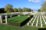 Beny-Sur-Mer Canadian War Cemetery – The Beny-sur-Mer Canadian War Cemetery, located at Reviers, about 4  kilometres from Juno Beach in Normandy, France. (J. Stephens)