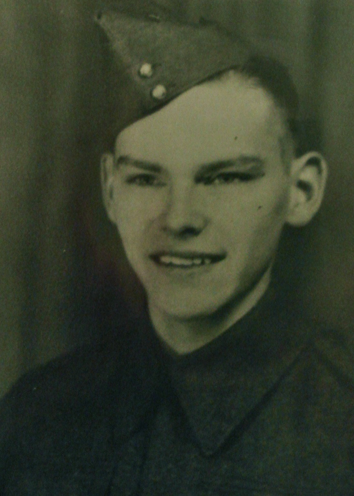 Photo of Edward Hoy – In memory of the students from Western Technical School, Toronto who served during World War II and did not return. Submitted for the project, Operation: Picture Me.