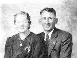 Photo of Julienne & Amedee Cantin – Submitted with permission of Albert Cantin  By Operation Picture Me