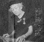 Photo of Mrs. Cantin – National Silver Cross Mother  Submitted with permission of Albert Cantin  By Operation Picture Me