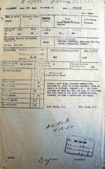 Document – This report dated 23 Nov 42 suggests that Ken is worth the effort and should be given another chance to prove himself.  In the end, Ken fails to make it as a pilot and is slated to be an air bomber.  See next document.
