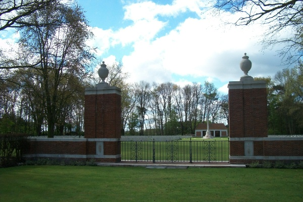 Entrance – Adegem Canadian War Cemetery - April 2017 … photo courtesy of Marg Liessens