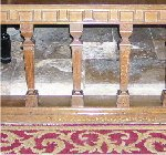 Altar rail – Altar rail at Lincoln Cathedral, England for Major Charles Hoey VC MC