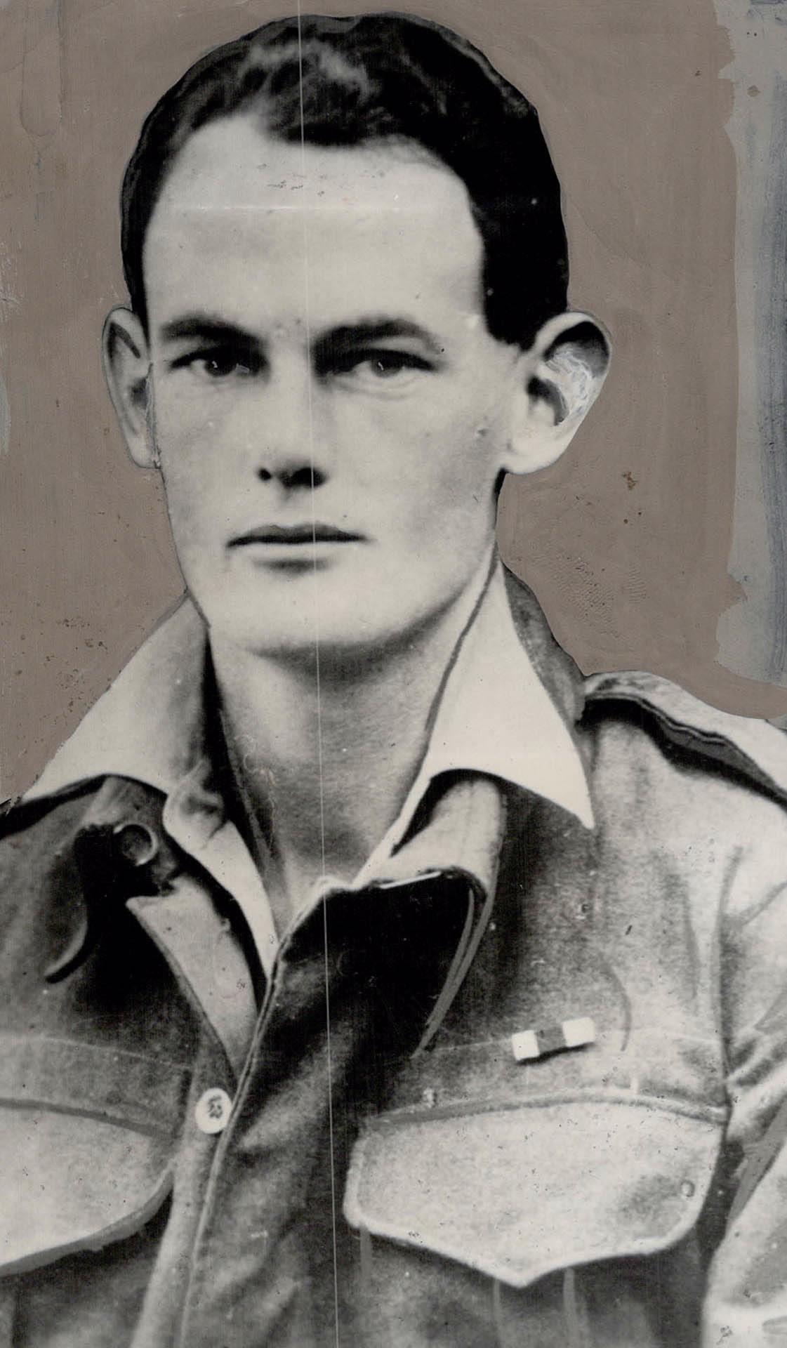 Photo of Charles Ferguson Hoey – Maj C F Hoey VC - from Toronto Public Archives