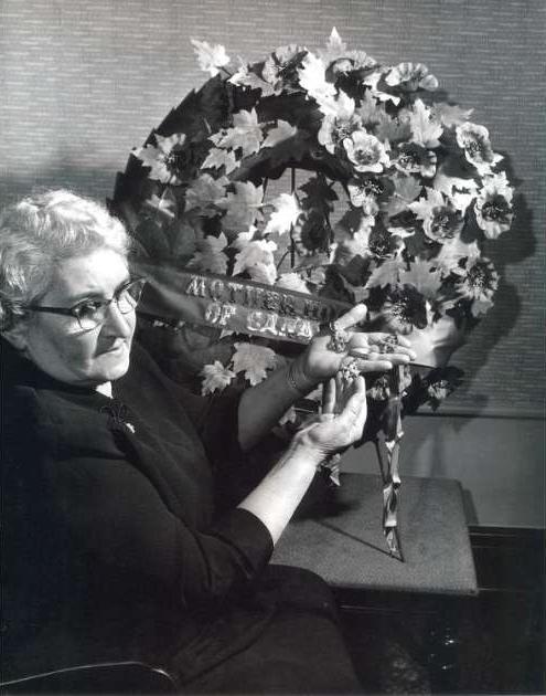 Photo of Regina Leboldus – 1955 National Memorial (Silver) Cross Mother