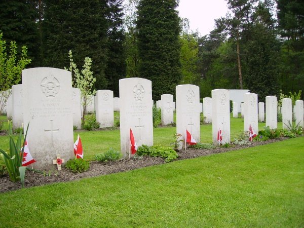Row of Gravemarkers