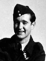 Photo of John Casey – F/O John Joseph 'Johnny' Casey, RCAF, was a crew member of Lancaster X KB-859, 431 'Iroquois' Squadron, 6 Group, Bomber Command. He died March 31, 1945 when his plane was shot down on a mission over Hamburg. KB-859 was coded SE-U, failed to return (SOC 31.3.45).