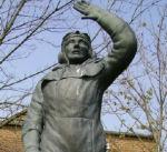Memorial – Top of the Memorial. The Memorial is located in Dalton-on-Tees, Yorkshire.