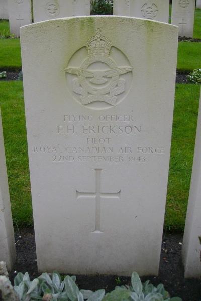 Grave marker – Becklingen War Cemetery … photo courtesy of Marg Liessens