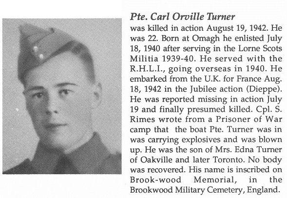 Photo of Carl Orville Turner