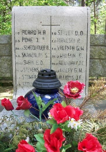 Memorial – Memorial Stone - Stalag Luft III, Zagan, Poland … photo courtesy of Marg Liessens