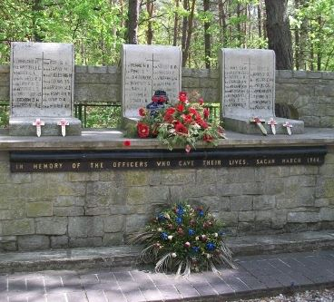 Memorial – Memorial - Stalag Luft III, Zagan, Poland … photo courtesy of Marg Liessens