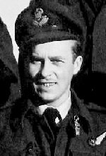 Photo of Martin Hartog – F/O Martin 'Jack' Hartog, RCAF, was a crew member of Lancaster X KB-859, 431 'Iroquois' Squadron, 6 Group, Bomber Command. He died March 31, 1945 when his plane was shot down on a mission over Hamburg. KB-859 was coded SE-U, failed to return (SOC 31.3.45).