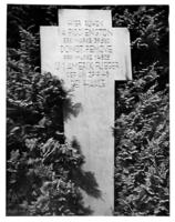 Memorial – Found in military service file. Submitted for the project, Operation Picture Me