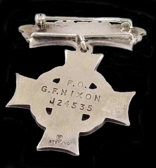 Memorial Cross (Reverse)