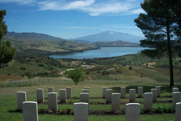Cemetery – Agira Canadian War Cemetery - 2013 Photo courtesy of Marg Liessens