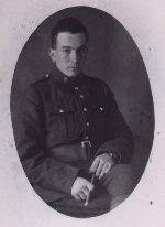 Photo of George John Jack – In uniform.