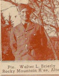 Photo of WALTER LEONARD BRIERLEY