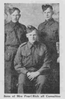 Photo of GEORGE RICH – From the Loyal Edmonton Regimental magazine the Fortyniner.  Submitted for the project, Operation Picture Me