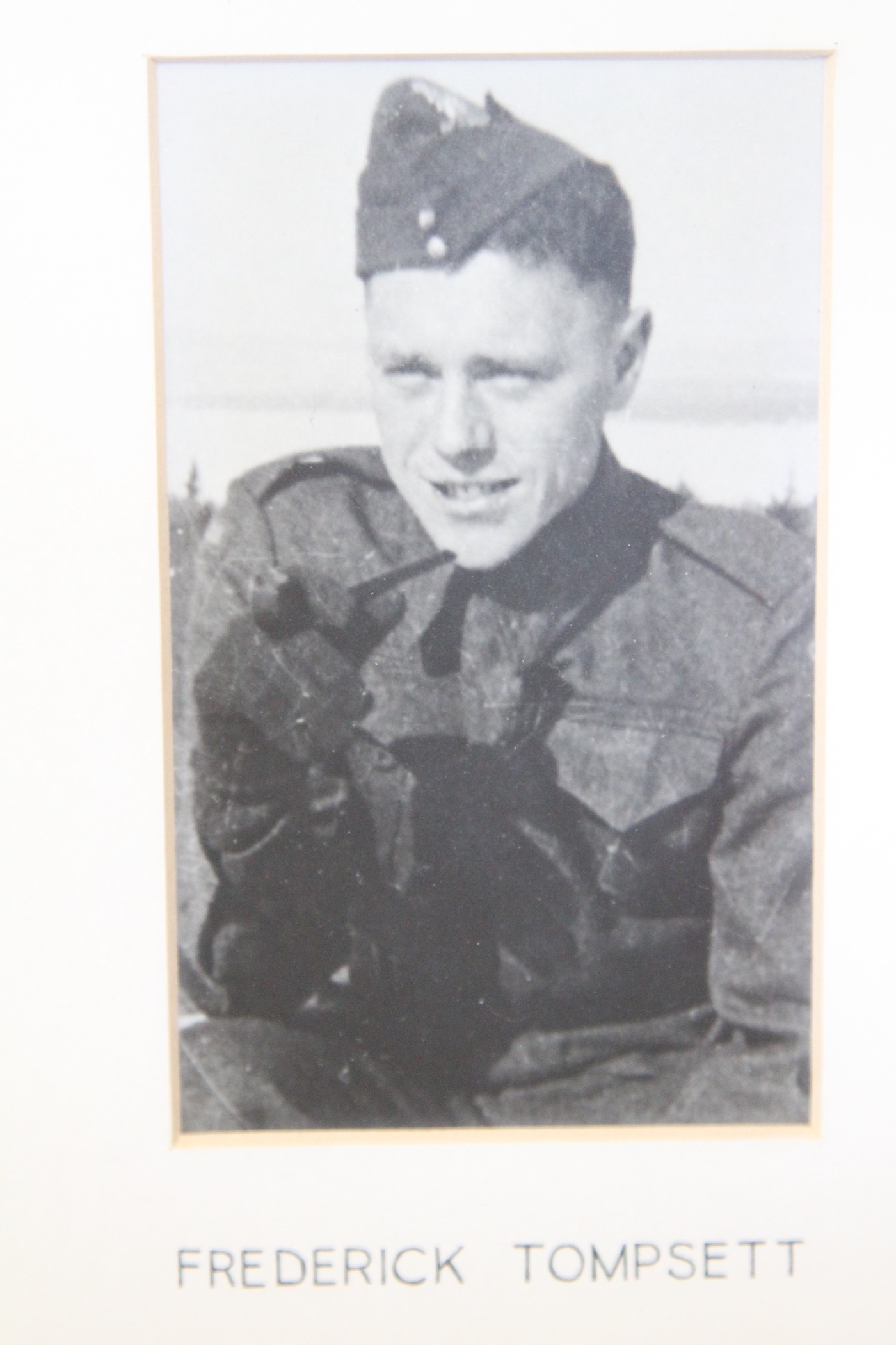 Photo of FREDERICK TOMPSETT – In memory of the students from the Vaughan Road Collegiate Institute  (Toronto) who went away to war and did not come home. Submitted for the project, Operation Picture Me