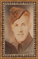 Photo of Clifford Howard Kimmel – Corporal Clifford Howard Kimmel.  Enlisted with Hastings and Prince Edward Regiment, R.C.I.C on July 4, 1940.