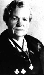 Photo of Sylvia Janet Kimmel (Mother) – Sylvia Janet Kimmel Silver cross Mother of 1961. She is shown with the three silver crosses.