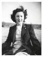 Photo – Who this person is is unknown. The photo was found in Gordon's military service file. Submitted for the project, Operation Picture Me