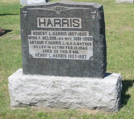 Family gravemarker – The Carrying Place Cemetery, Prince Edward County, Ontario, Canada.