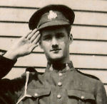 Photo of Frank Harris – In memory of the members of the 48th Highlanders of Canada who went to war and did not come home. 